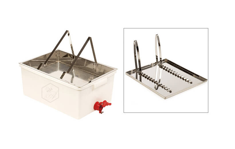 Uncapping Tray and Frame Rack | Ango Apiculture